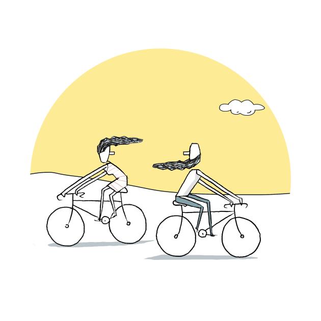 Sunset Cycling
