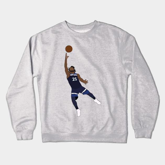 ad1b0e2d854 Derrick Rose - Minnesota Timberwolves - Nba - Crewneck Sweatshirt ...