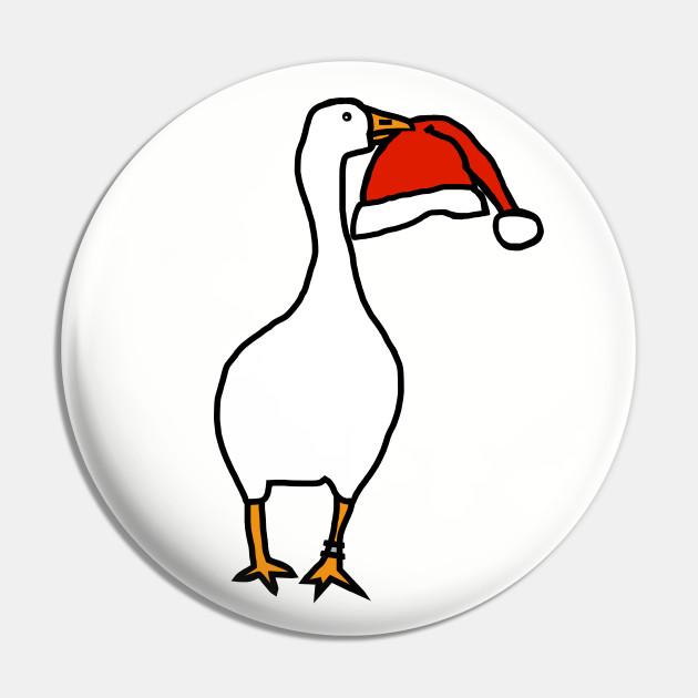 White Goose Steals Hat