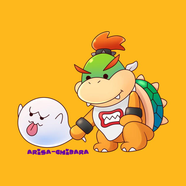 Bowser Jr And Boo Bowser Jr T Shirt Teepublic