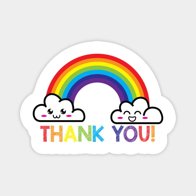 Thank You Rainbow Support NHS and Keyworkers Gifts for Nurses and Doctors