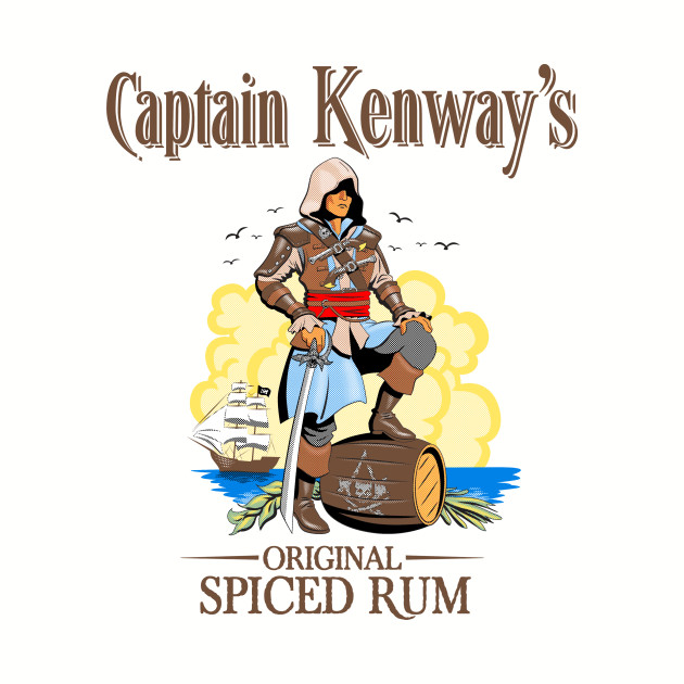 Captain Kenway's Original Spiced Rum