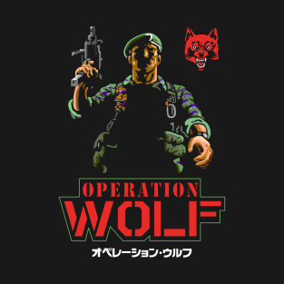 8def2f74d43 Operation Wolf Retro Arcade Vintage Gaming T-Shirt