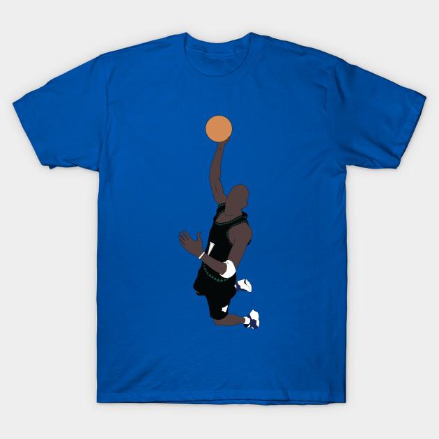 4e26774f109b Kevin Garnett Slam Dunk - Kevin Garnett - T-Shirt   TeePublic