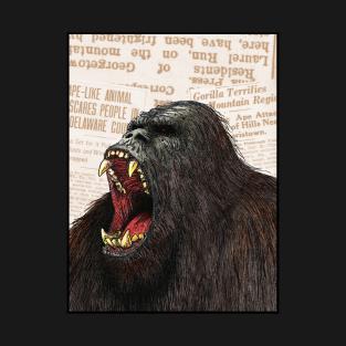 Howling Bigfoot t-shirts