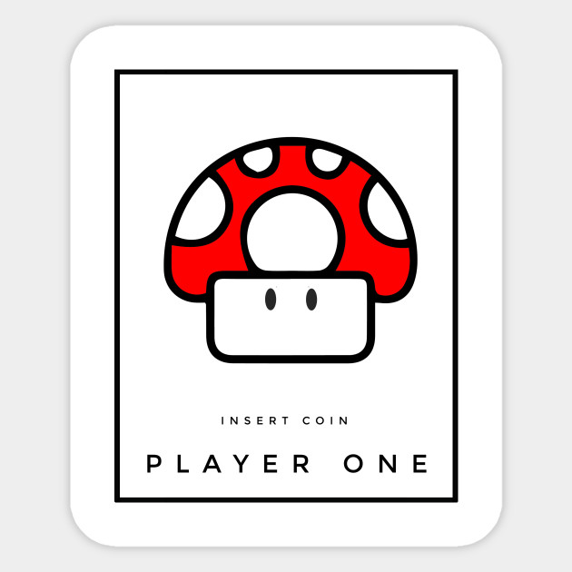 Mario - Insert Coin Player One