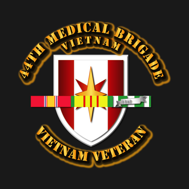 44th Medical Brigade w SVC Ribbons
