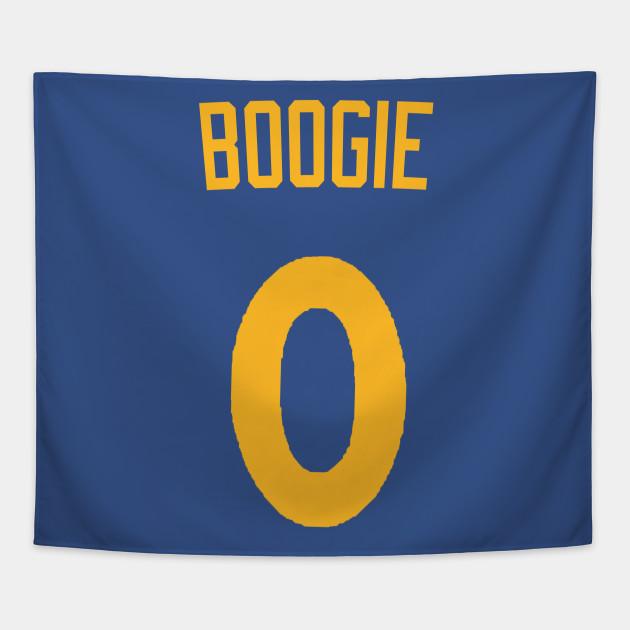 Demarcus Cousins  Boogie  Nickname Jersey - Golden State Warriors Tapestry 0ffc4ba37