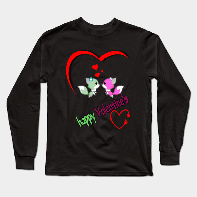 Happy valentine's Long Sleeve T-Shirt