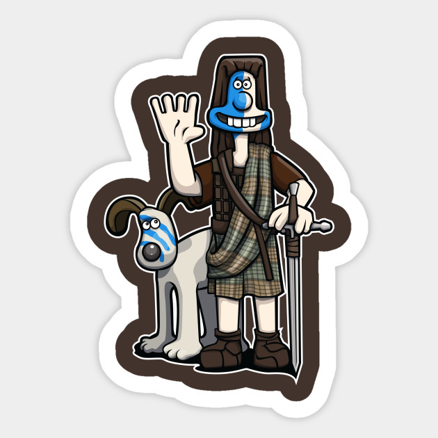 William Wallace Sticker