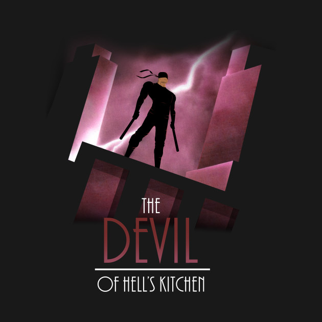 The Devil Of Hell's Kitchen - Daredevil - T-Shirt