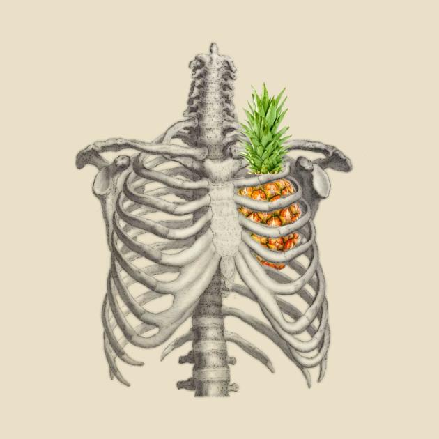 pineapple heart - Pineapple - Tapestry | TeePublic