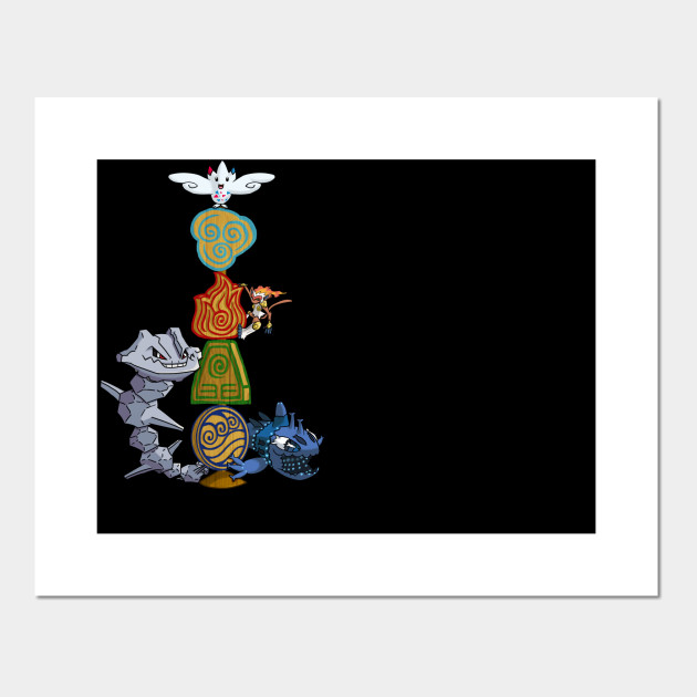 4 Elements Avatar The Last Airbender Posters And Art Prints