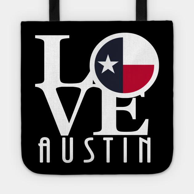 LOVE Austin (White Ink)
