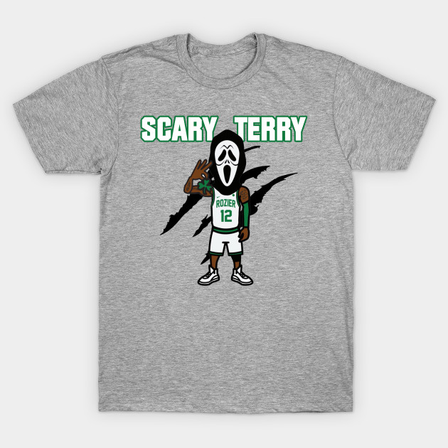 8ab8b6486aef Scary Terry Rozier - Scary Terry Rozier - T-Shirt   TeePublic