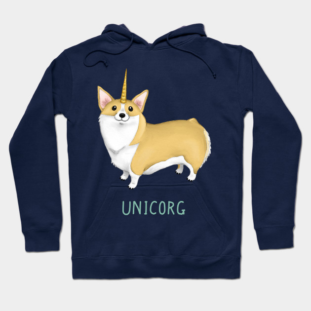 3fbf1a74 Unicorg Hoodie. by SprawlingPuppy. $45. Main Tag Corgi Hoodies