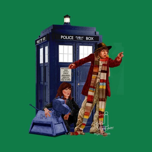 4th Doctor, Sarah Jane, K-9 and the TARDIS