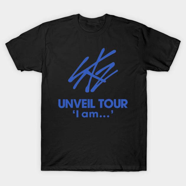 56f935a5f KPOP STRAY KIDS UNVEIL TOUR I AM - Unveil Tour - T-Shirt | TeePublic