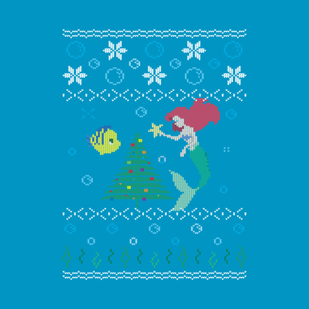 Ugly Christmas Sweater - The Little Mermaid