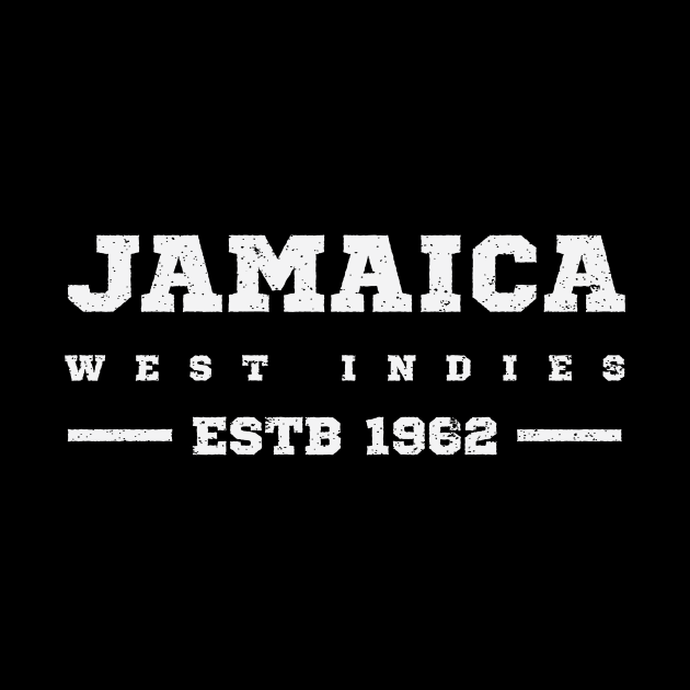 Jamaica Estb 1962 West Indies