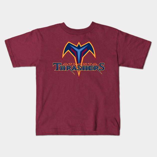 8f6c13860afe Atlanta Thrashers Vintage - Atlanta Thrashers - Kids T-Shirt