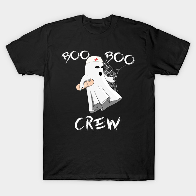 Boo Boo Crew Nurse Shirt Funny Halloween Costume Fun Gift