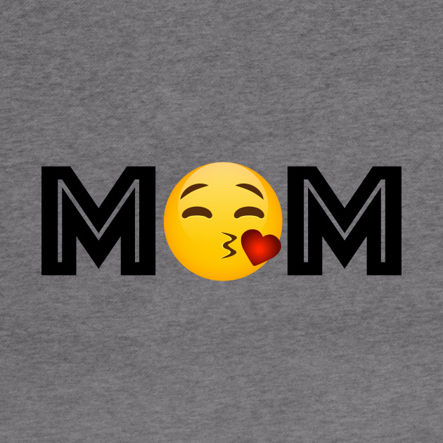 Hoodie Gift idea for Best Mommy from Daughter or Son Emojicon