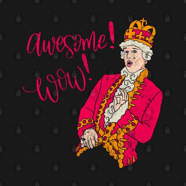 hamilton - King George awesome wow
