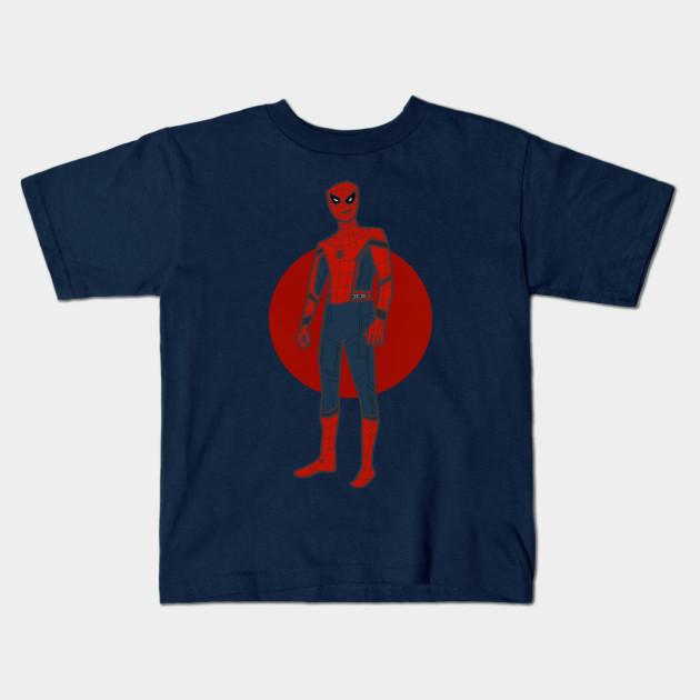a645f36b8 Spider-man full body print - Spider Man - Kids T-Shirt   TeePublic