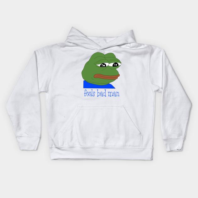 Pepe The Frog Meme Pepe Frog Kids Hoodie Teepublic