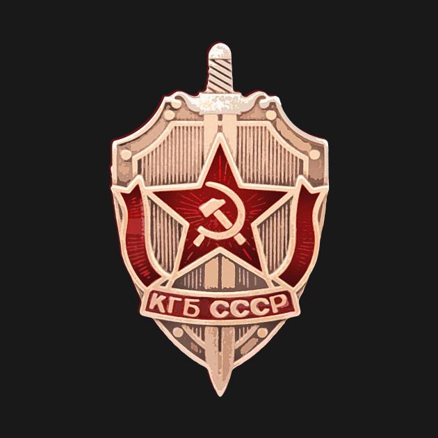 KGB logo (badge)
