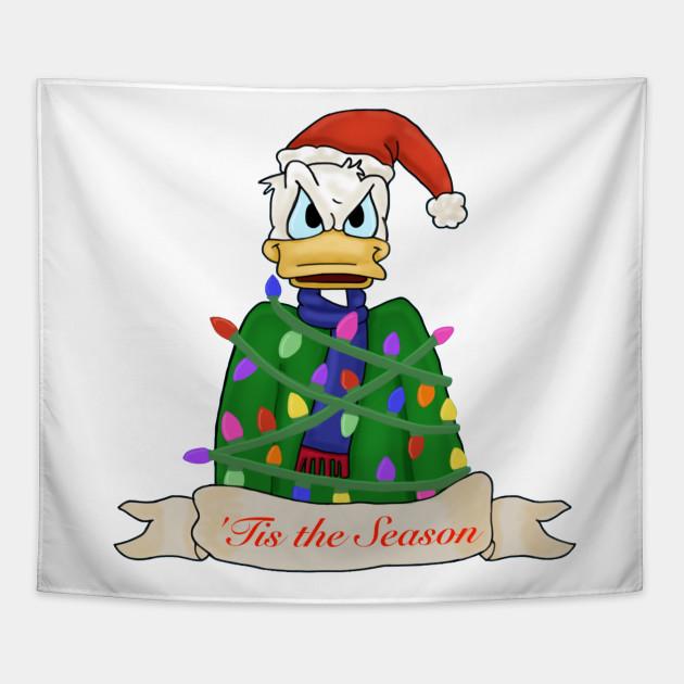 Donald Duck Christmas.Donald Duck Christmas Tis The Season