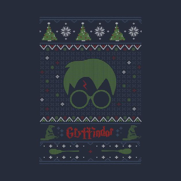 Harry Potter Christmas - Holiday Sweater - T-Shirt | TeePublic