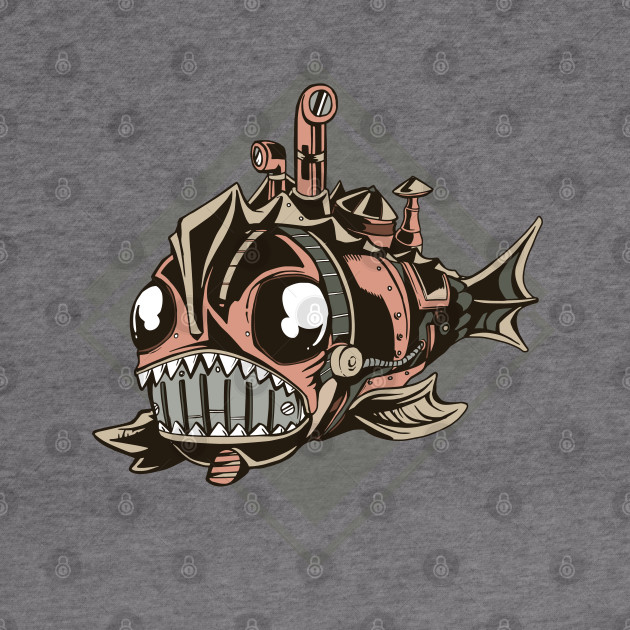 STEAMPUNK MECHANICAL FISH