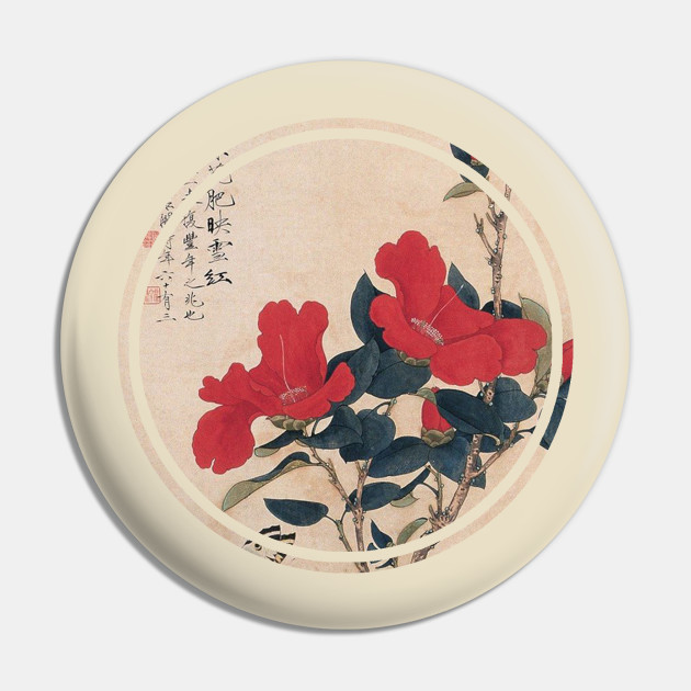 Old japanese flower painting