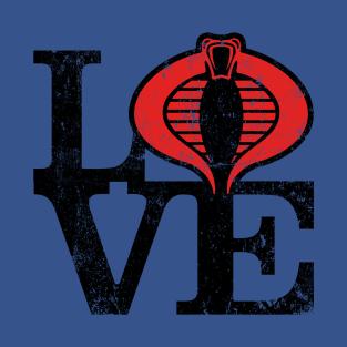 LOVE COBRA t-shirts
