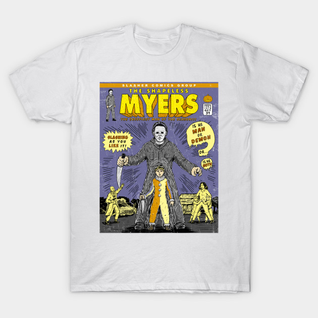 SLASHER COMICS-MYERS T-Shirt-TOZ