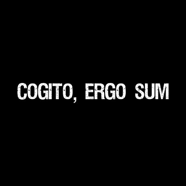 Cogito, Ergo Sum