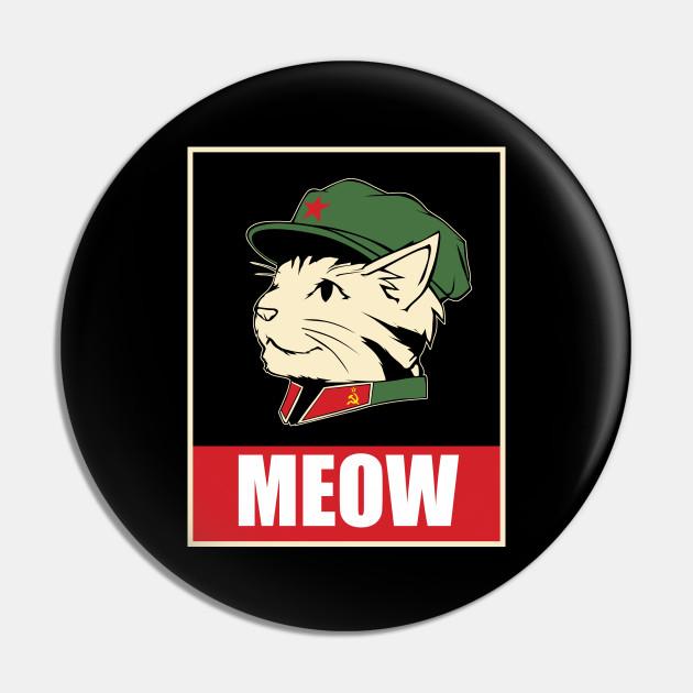 Vintage soviet metal pin Cat Leopold Pin Vintage soviet pin cat