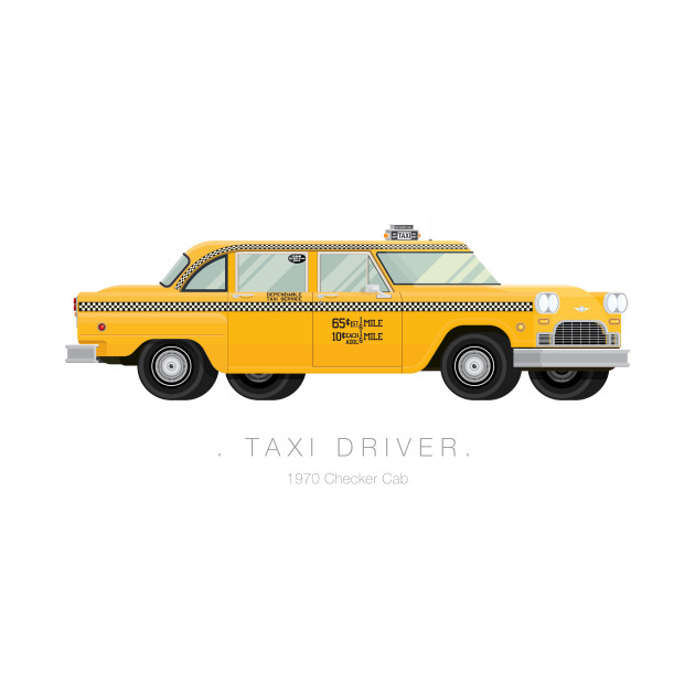 Taxi Driver - Famous Cars
