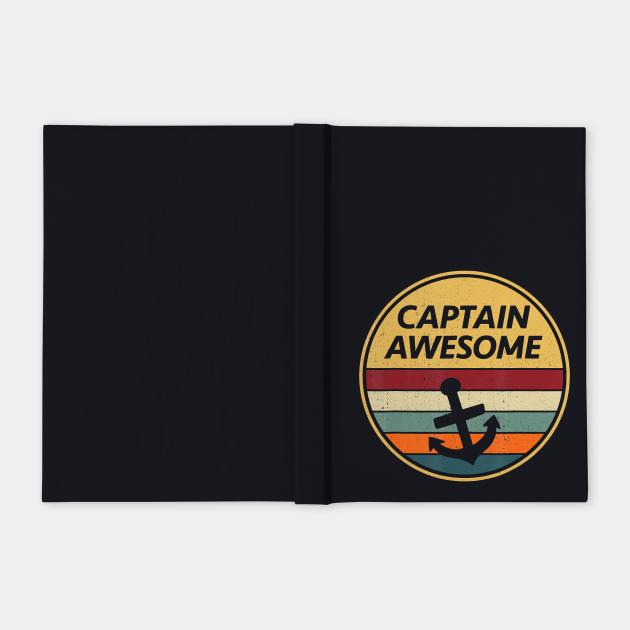Retro Anchor Sailboat Vintage Sailing Captain