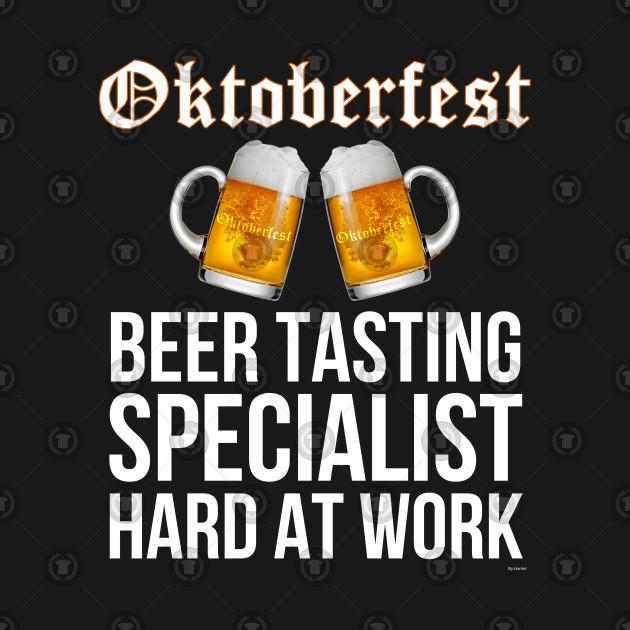Oktoberfest Beer Tasting Specialist Hard At Work - Oktoberfest Octoberfest