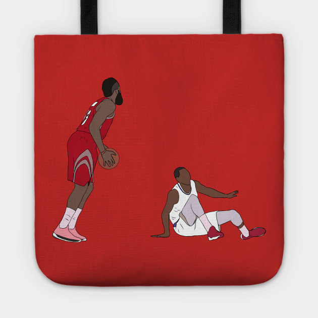 07ad31690e2b James Harden Crossover On Wesley Johnson - James Harden - Tote ...