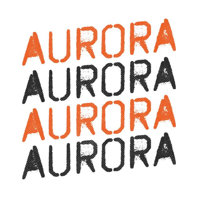 Aurora, Colorado - CO, Graffiti Text
