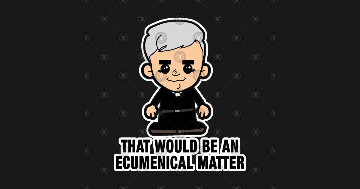 Lil Father Ted Ecumenical Matter Father Ted Mug