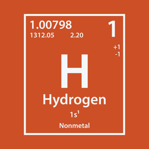 hydrogen element - hydrogen
