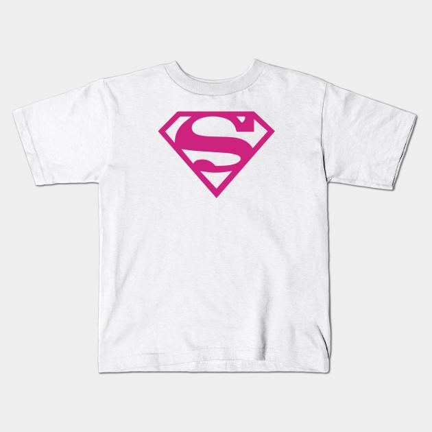 121e0d06 Pink Super - Supergirl - Kids T-Shirt | TeePublic
