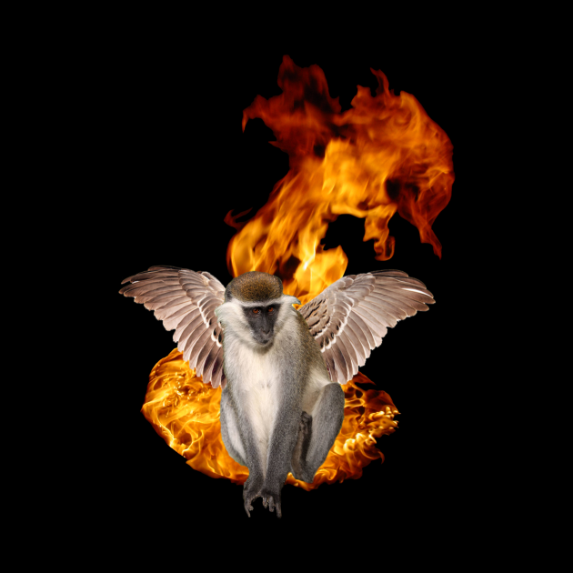 Flying Fire Monkey