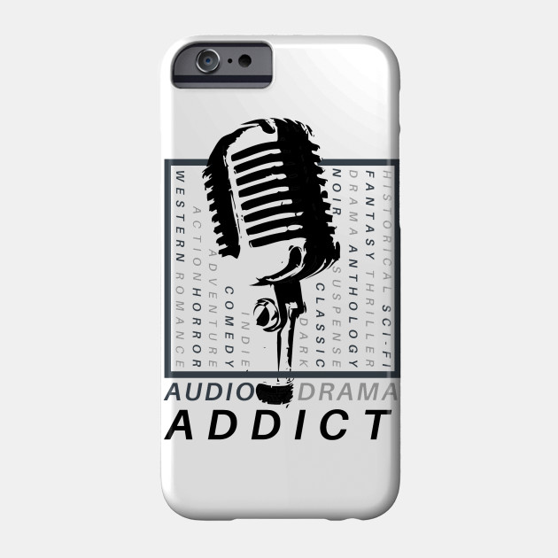 audio drama addict audio drama phone case teepublic
