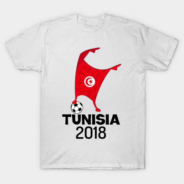 reputable site 8b568 5b2a5 Tunisia Flag 2018 Football Cup Soccer Dabbing World Jersey